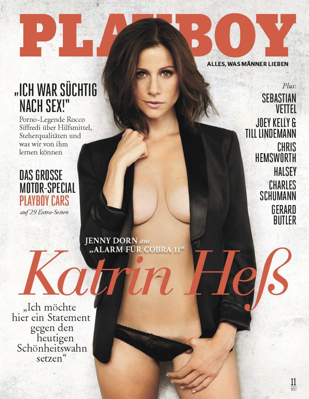 Katrin Heß nackt im Playboy
