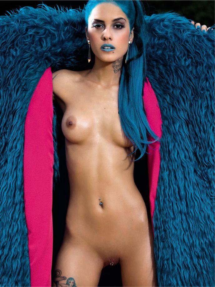 Tati Zaqui frontal nude for Playboy