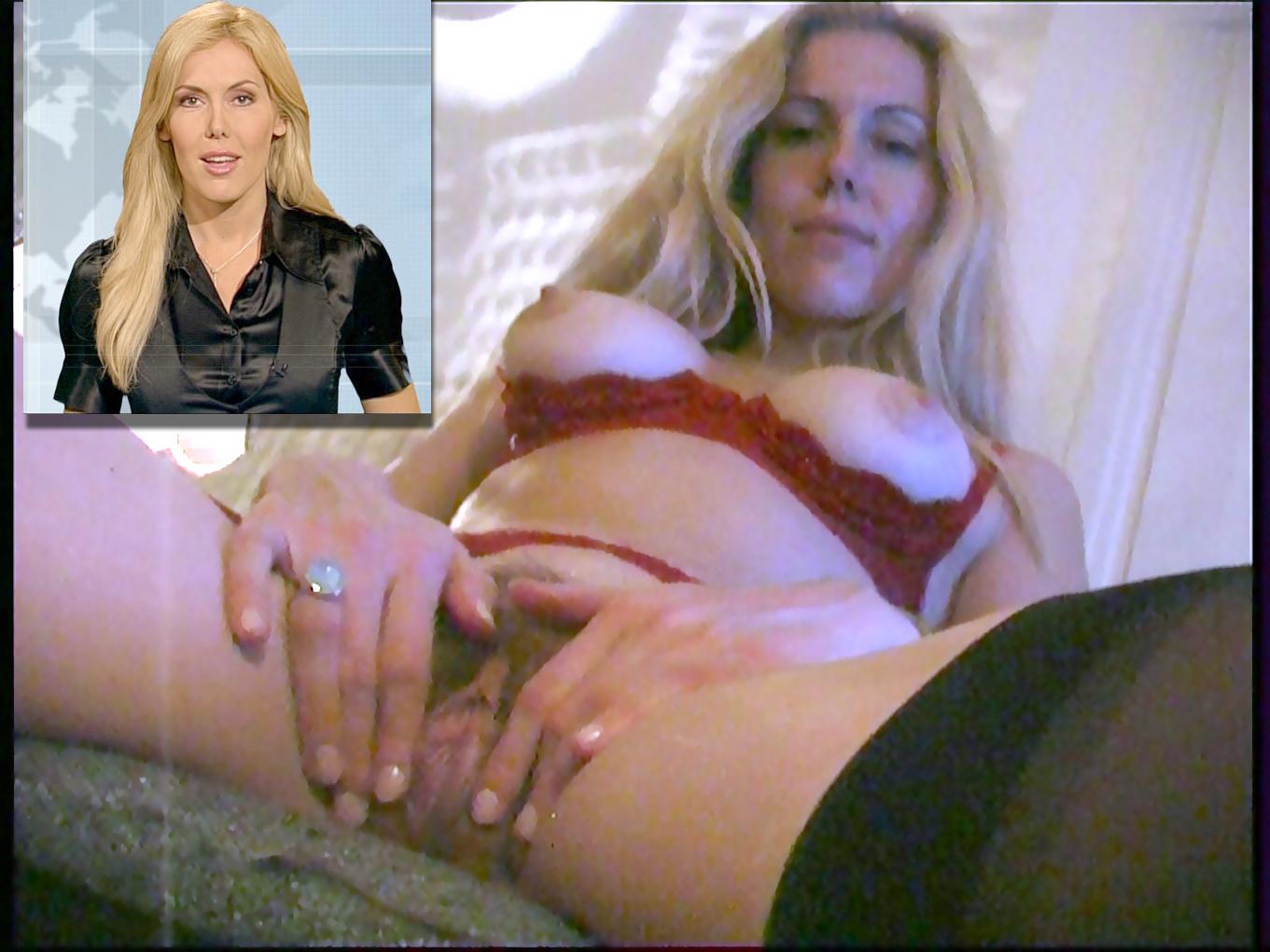 Deutsche Fernsehmoderatorin Alexandra Klim Nude Leaked
