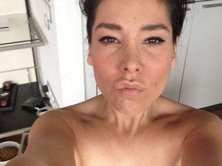 German Presenter Sandra Ahrabian Nude Leaked Selfies
