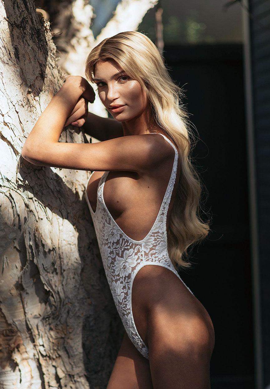 Tranny Model Giuliana Farfalla Nude full frontal for Playboy