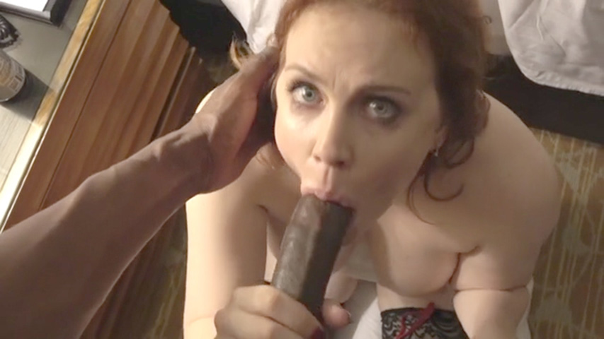 Maitland Ward sucking a big black cock video leaked The Fappening 2018